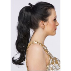 tie-in curly ponytail hair extension