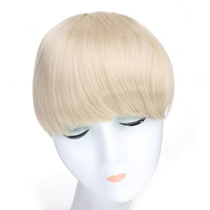Clip In Bang Fringe --Straight