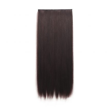One Piece Straight Clip In Hair Extensions