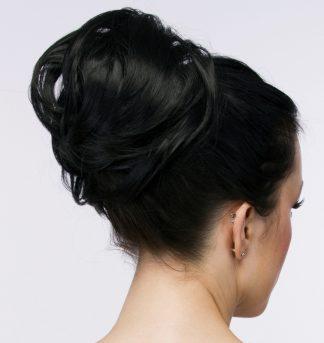 larg pony tail hair extension bun ponytail